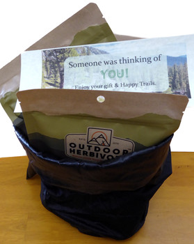 Outdoor Herbivore Gift Bag
