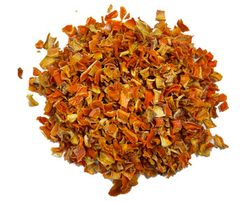 Dried Carrot Dices