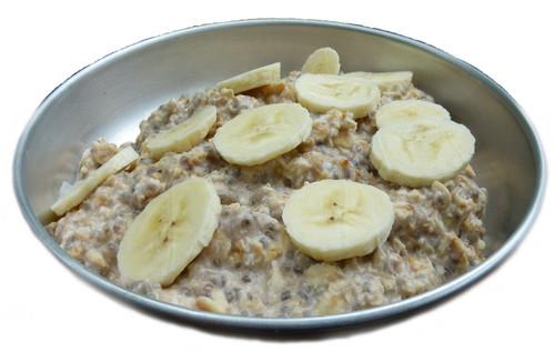 Chia Oat Crunch prepared