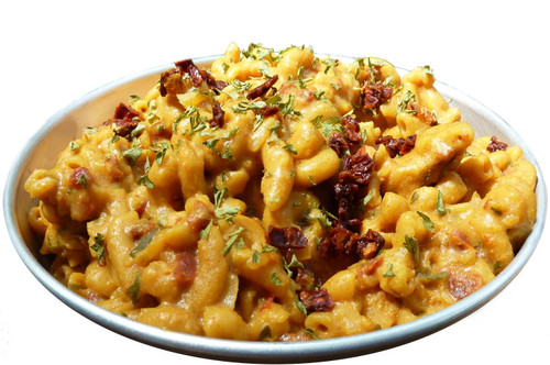 Vegan Cheddar Mac Prepared