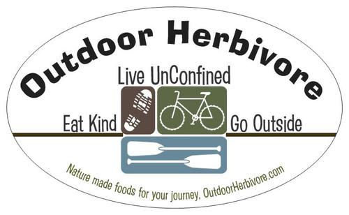 Outdoor Herbivore Bumper Sticker