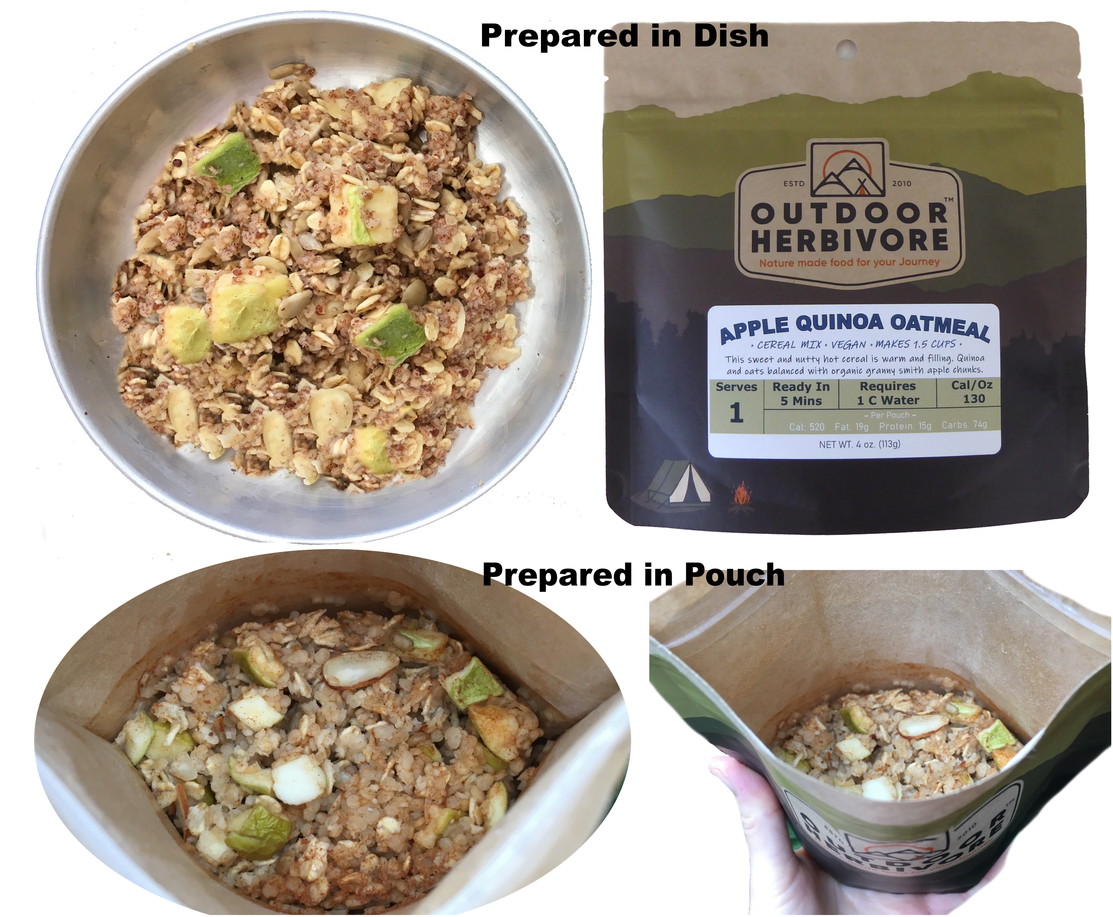 How Outdoor Herbivore Meals are Packaged and Prepared