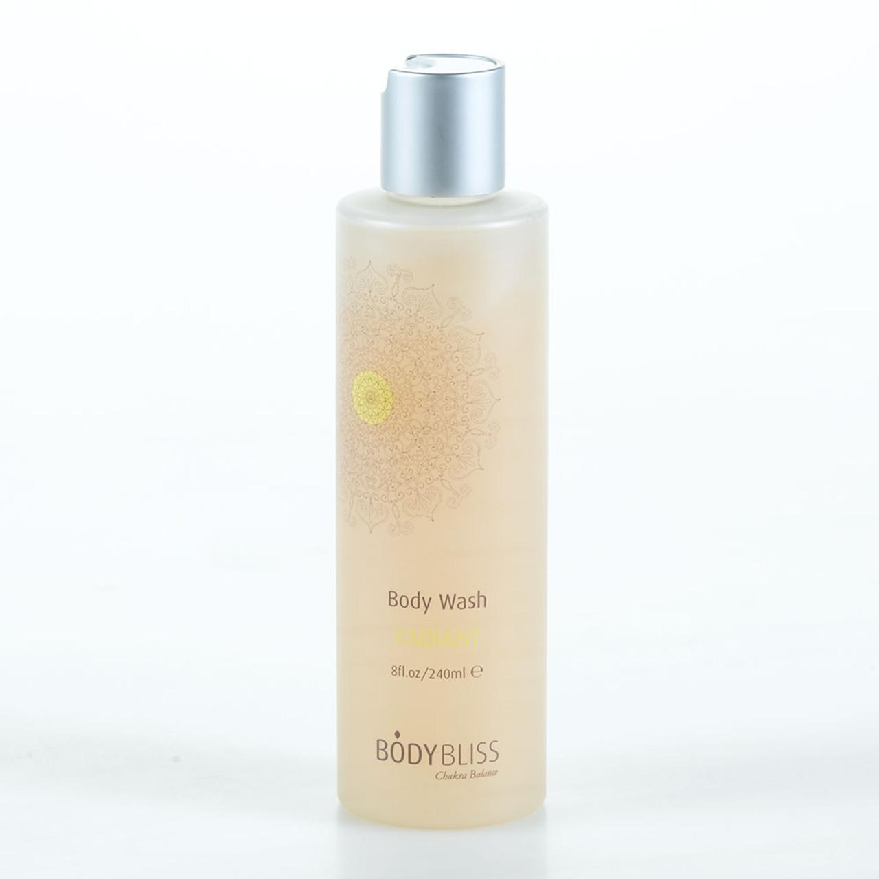 Organic Lemon & Amber Body Wash