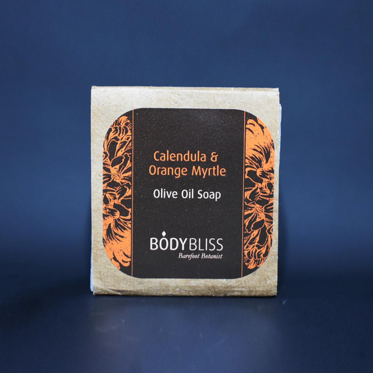 Calendula & Orange Myrtle Olive Oil Soap