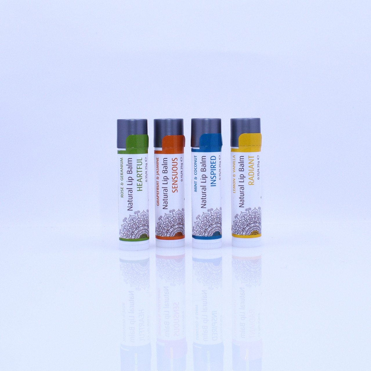 RADIANT Organic Lemon & Vanilla Natural Lip Balm