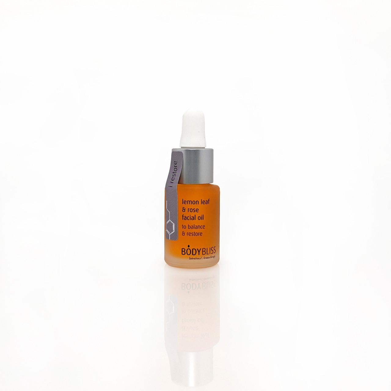 i restore Lemon Leaf & Rose Facial Oil