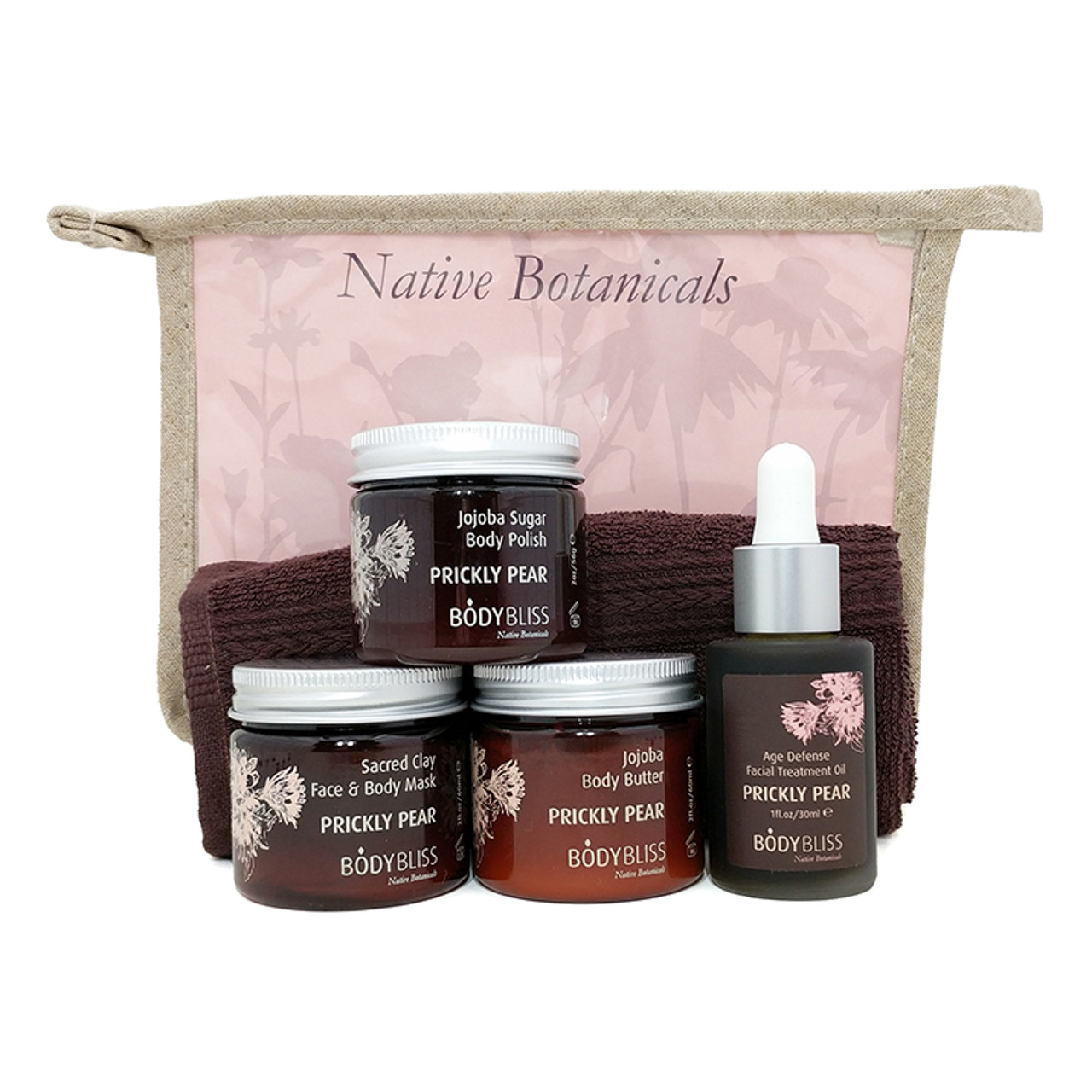 Prickly Pear Home Spa Kit