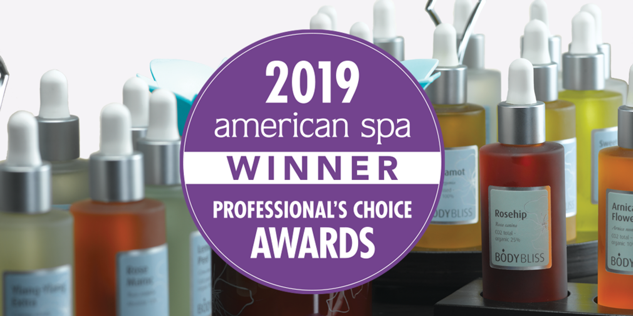 Body Bliss™ Wins Favorite Aromatherapy Line In American Spa Professional's Choice Awards