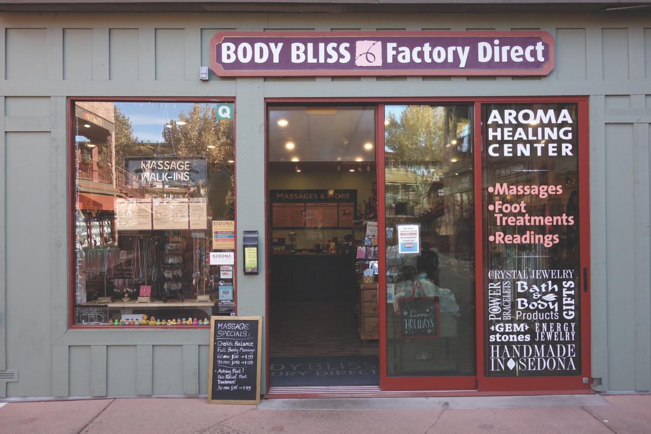 WE ARE EXCITED TO ANNOUNCE THE ADDITION OF THE BODY BLISS FACTORY DIRECT STORE TO OUR FAMILY!