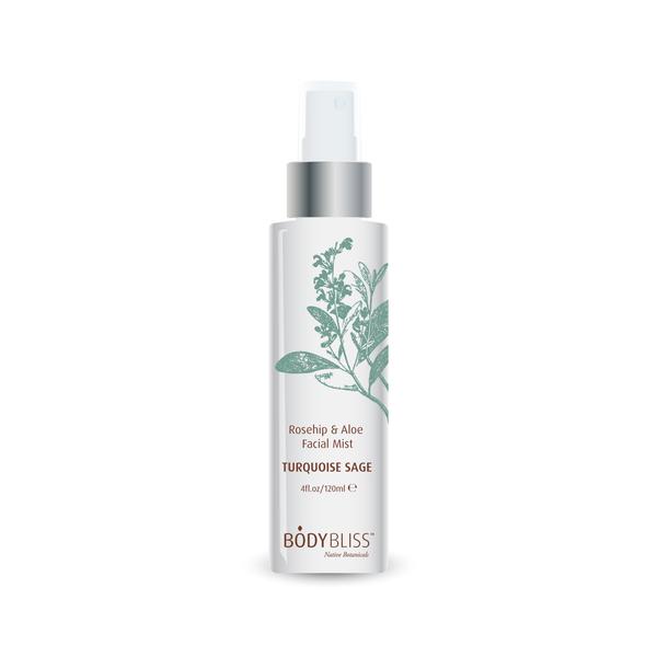 Turquoise Sage Rosehip & Aloe Vera Face & Body Mist