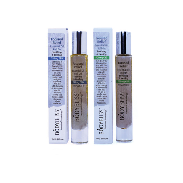 Focused Relief Essential Oil Roll On with CBD