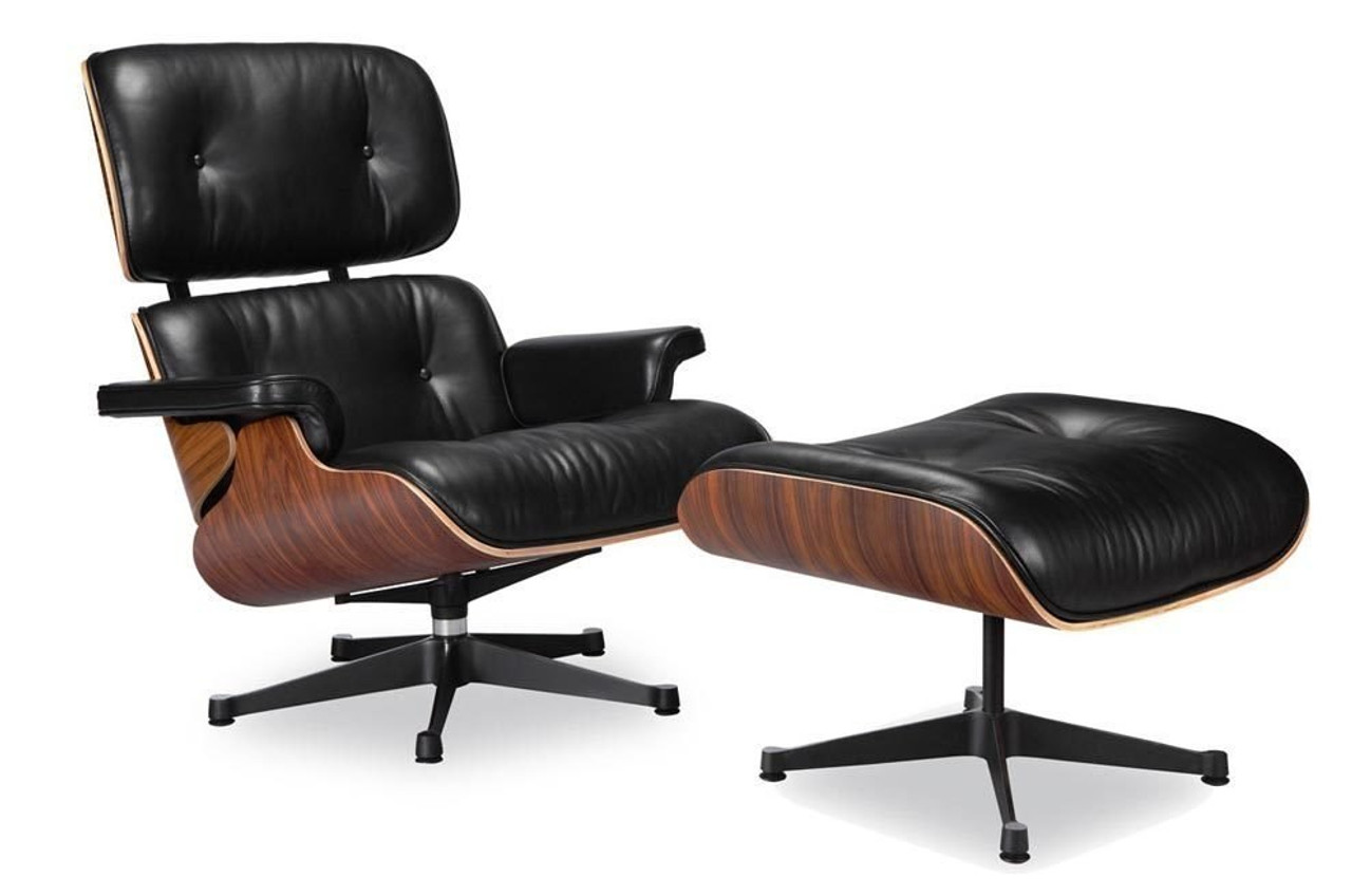 eames lounge chair vitra black manhattan home design rh manhattanhomedesign com