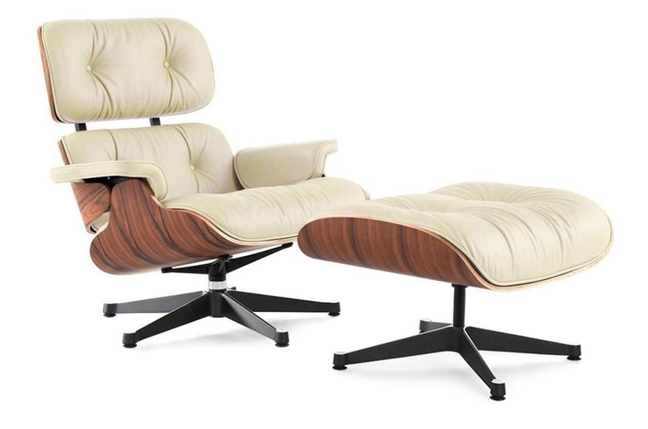 Eames Lounge Chair Replica Cream Manhattan Home Design