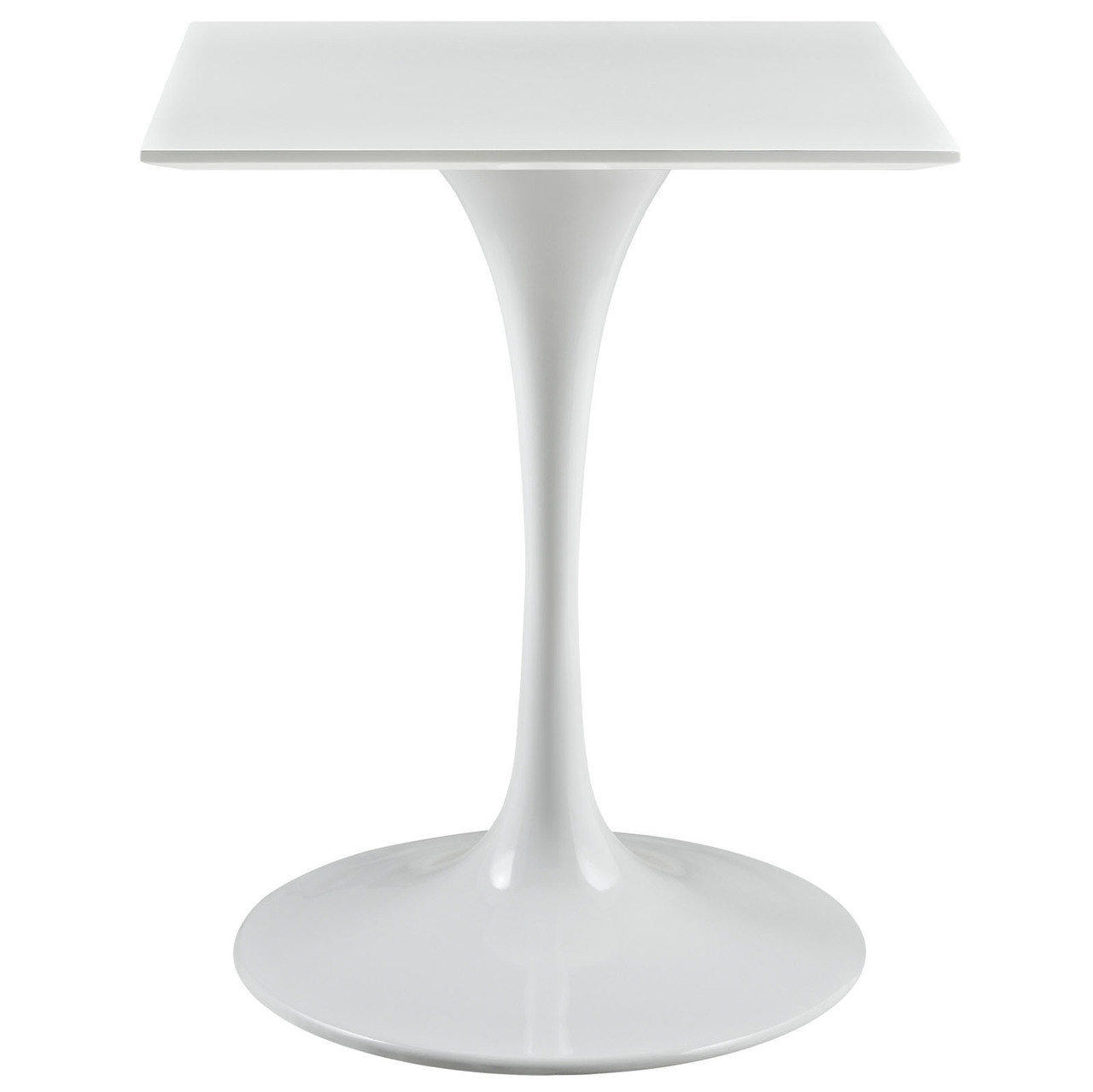 """Lippa 24"""" Square Wood Top Dining Table"""