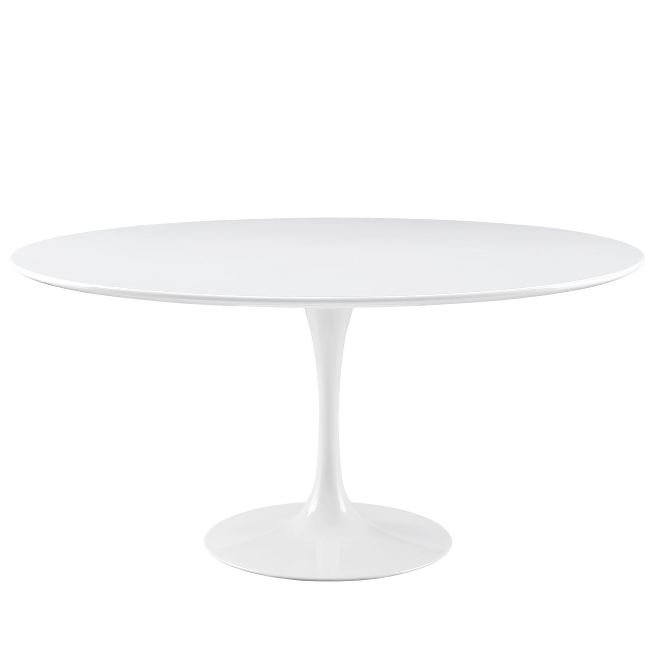 """Lippa 60"""" Round Wood Top Dining Table"""