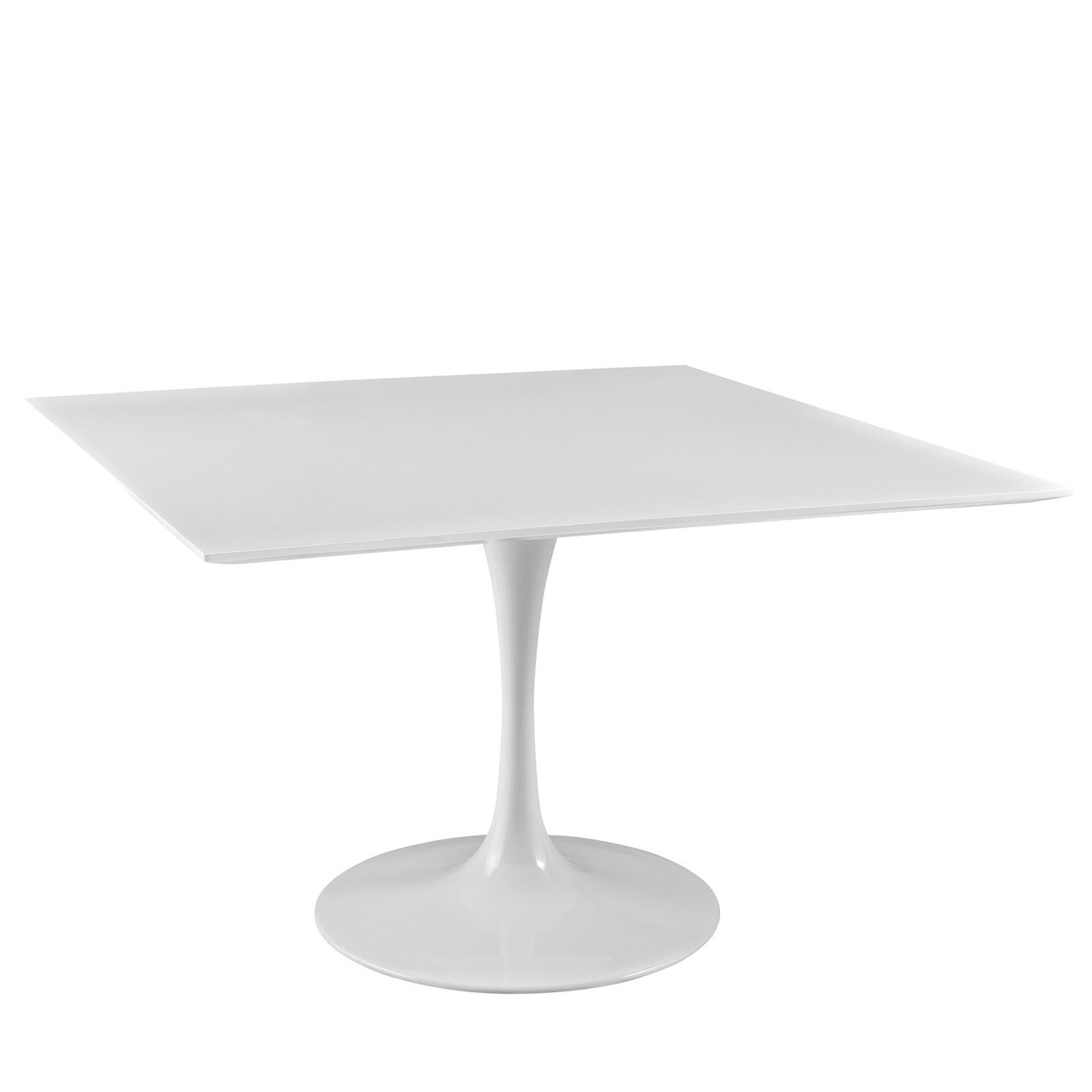 """Lippa 47"""" Square Wood Top Dining Table"""
