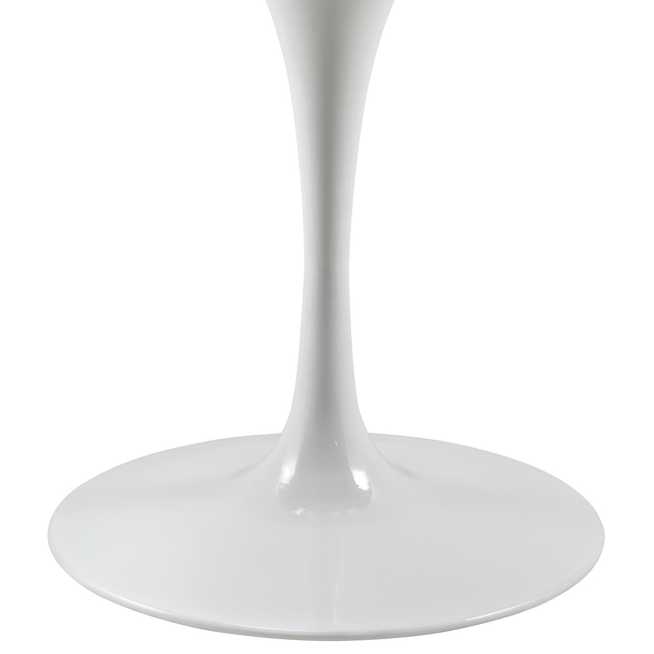 """Lippa 47"""" Round Artificial Marble Dining Table"""