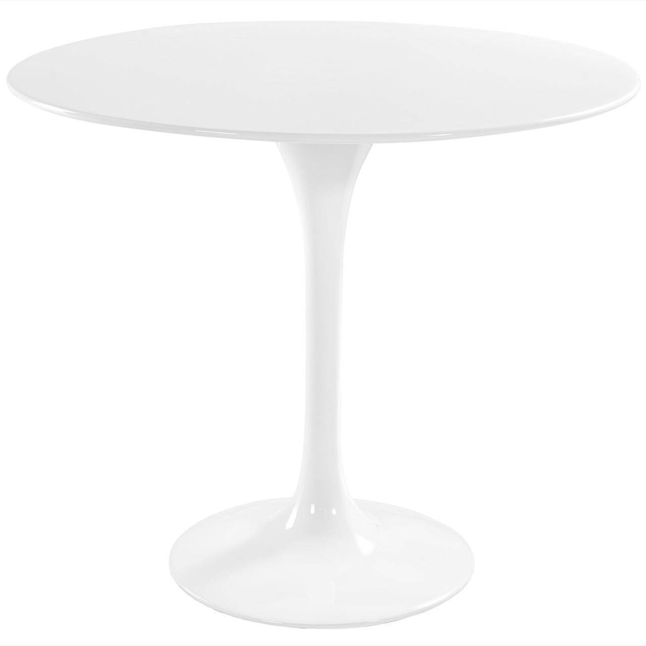 "Lippa 36"" Round Fiberglass Dining Table"