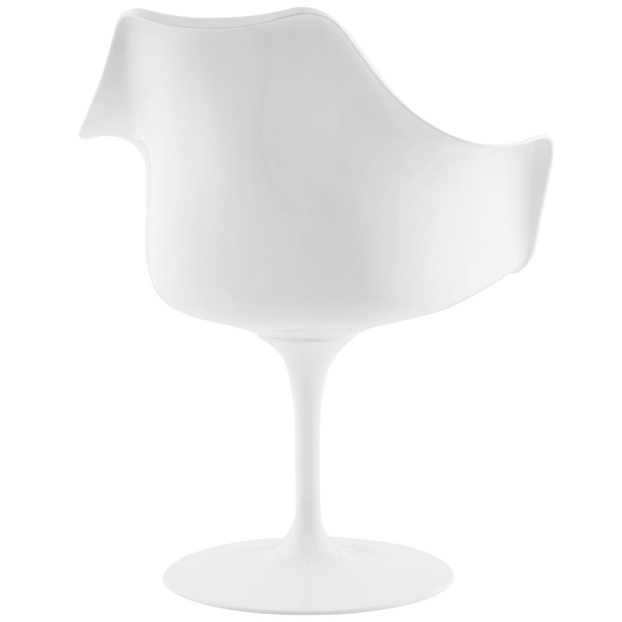 Lippa Dining Vinyl Armchair