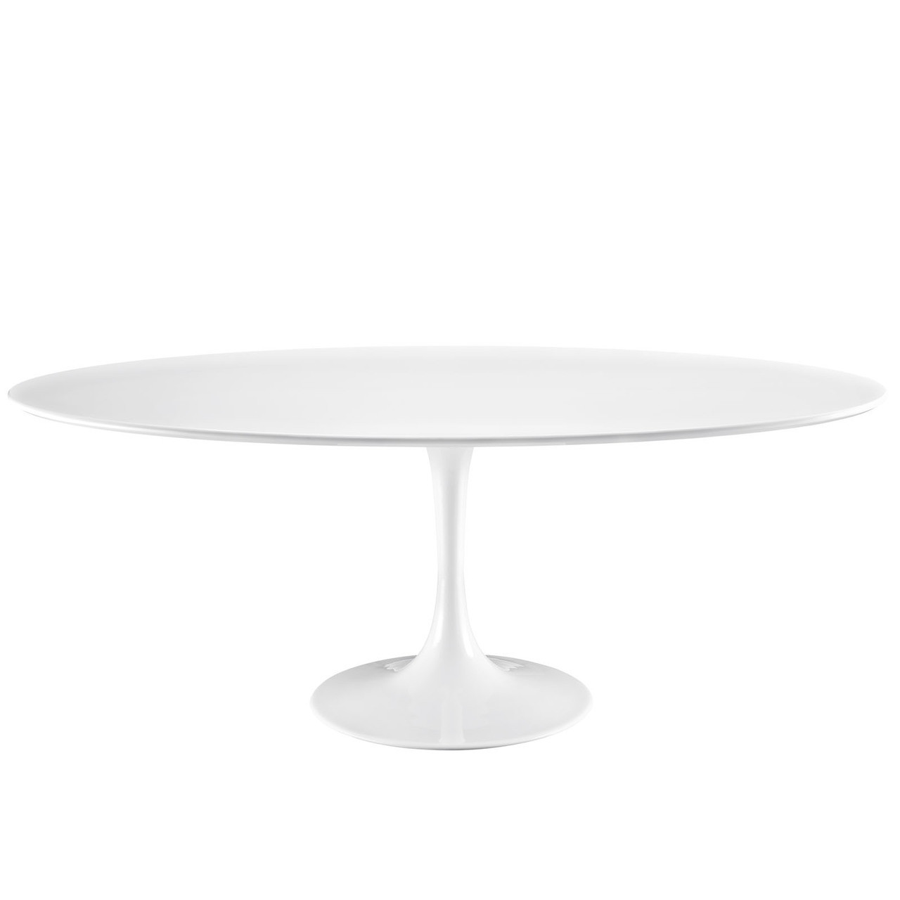 "Lippa 78"" Oval Wood Top Dining Table"