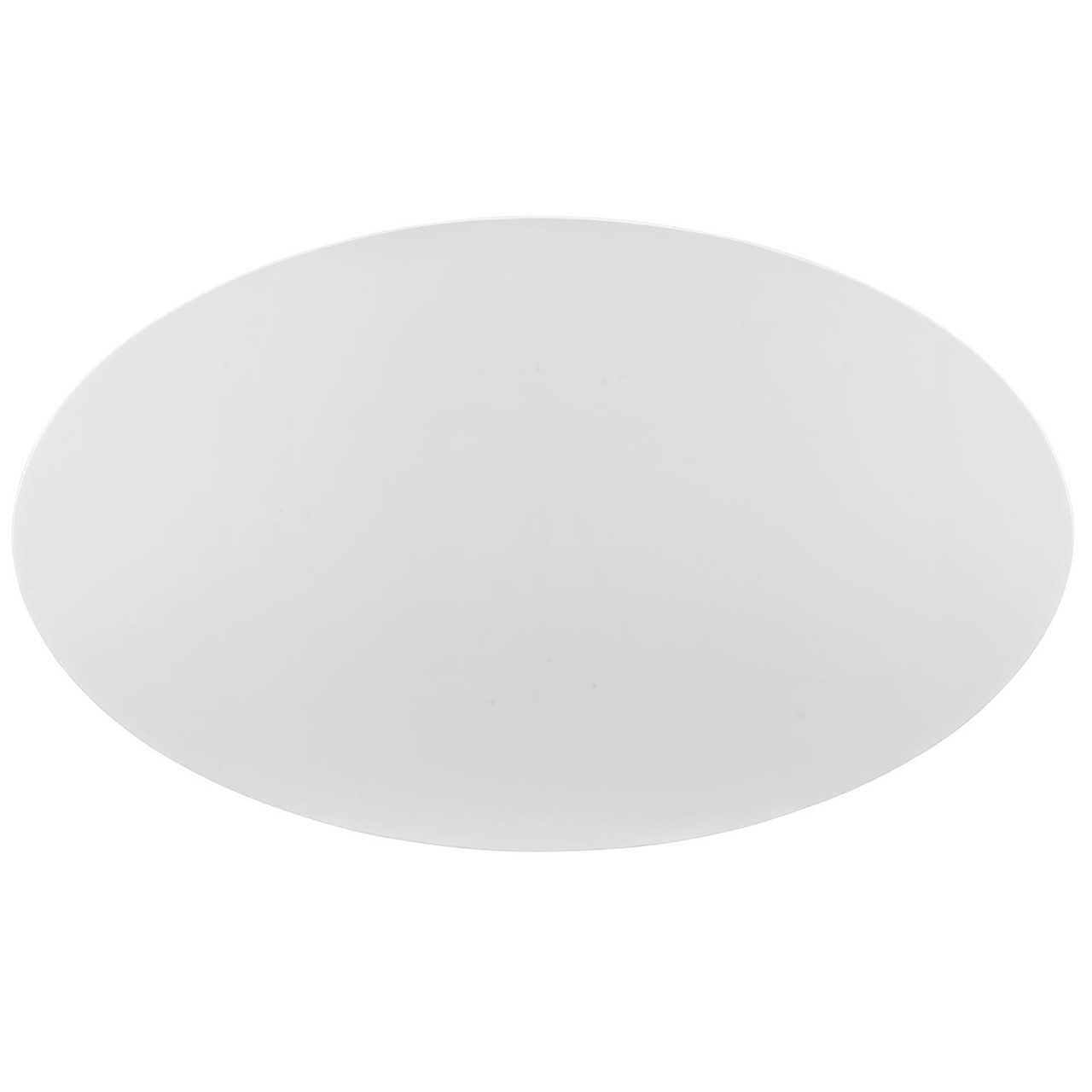 """Lippa 78"""" Oval Wood Top Dining Table"""