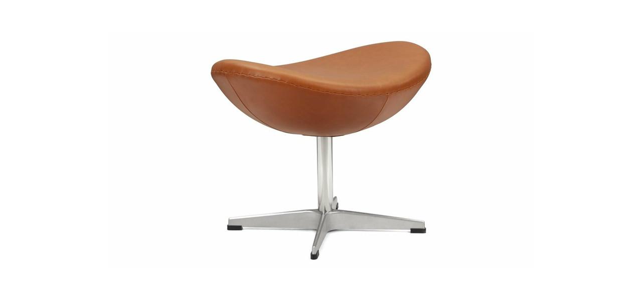 Arne Jacobsen Egg Chair Leather Ottoman