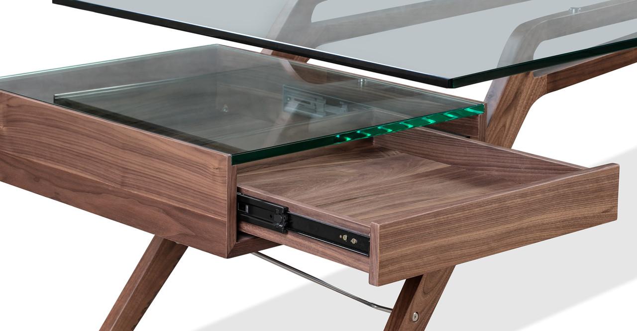 """1949 Protractor 98"""" Desk"""