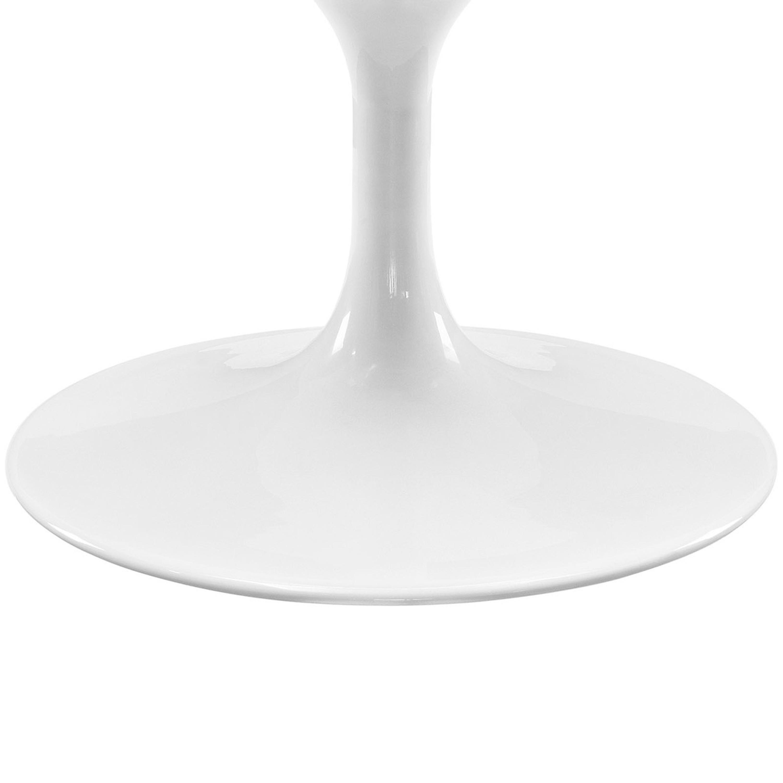 "Lippa 48"" Oval-Shaped Walnut Coffee Table"