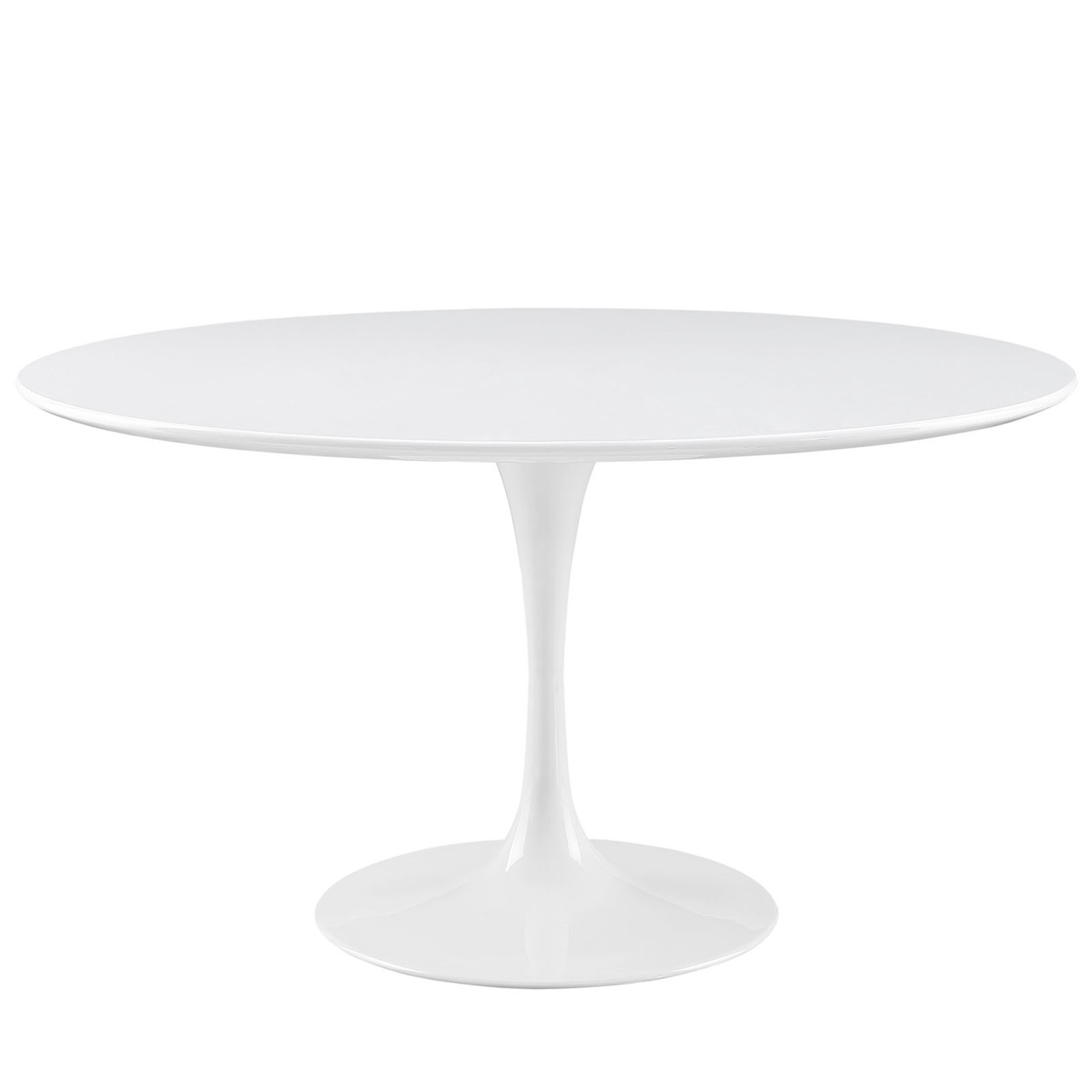 """Lippa 54"""" Round Wood Top Dining Table"""