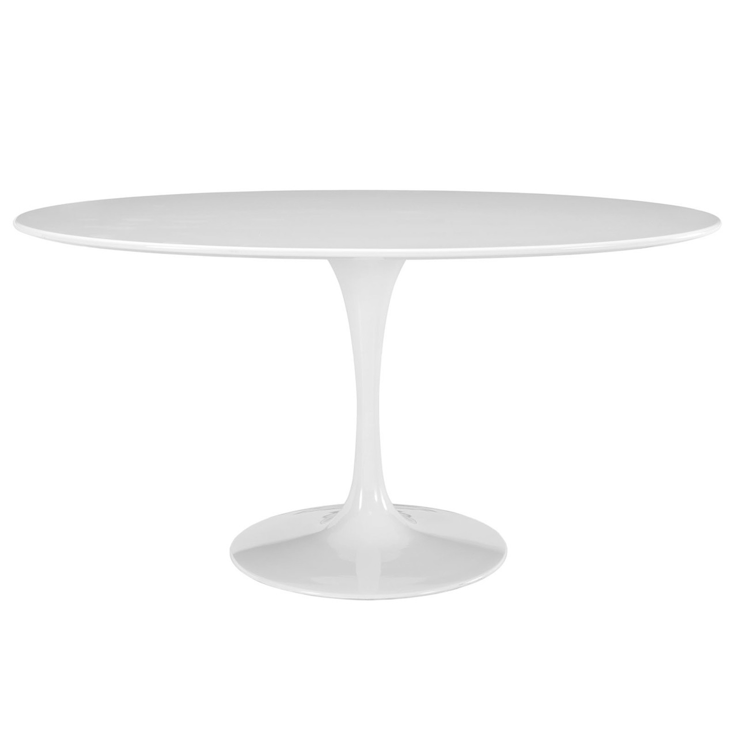 """Lippa 60"""" Oval Wood Top Dining Table"""