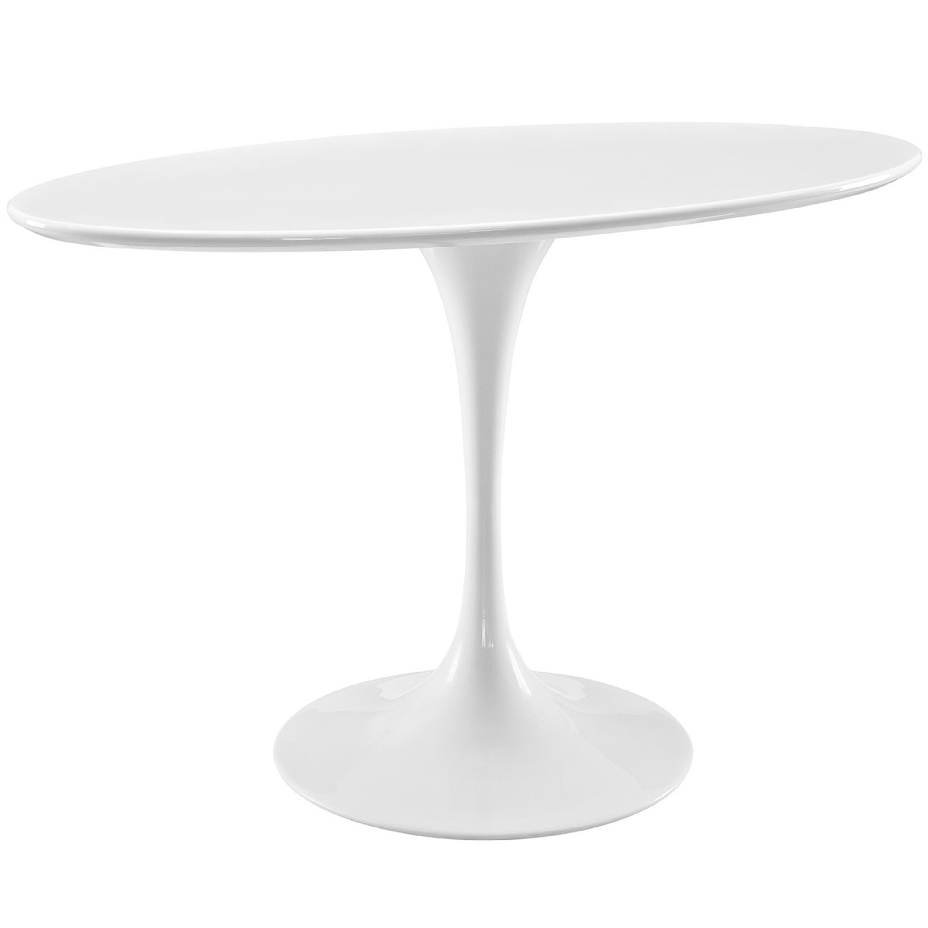 """Lippa 48"""" Oval Wood Top Dining Table"""