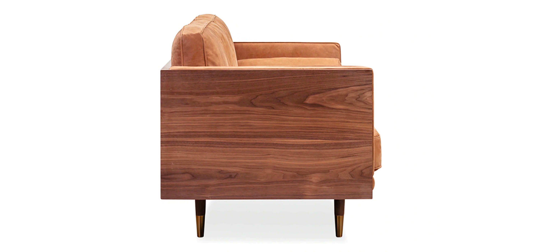 Woodrow Box Skandi 87 Leather-sofa