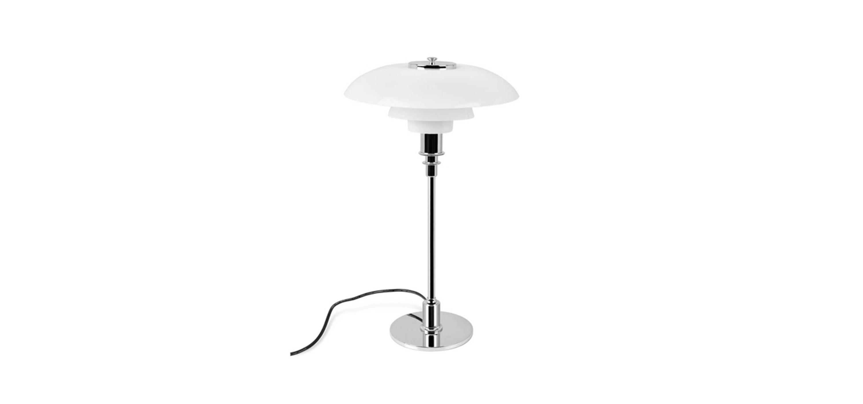 PH 3 1/2 -2 1/2 Glass Table lamp