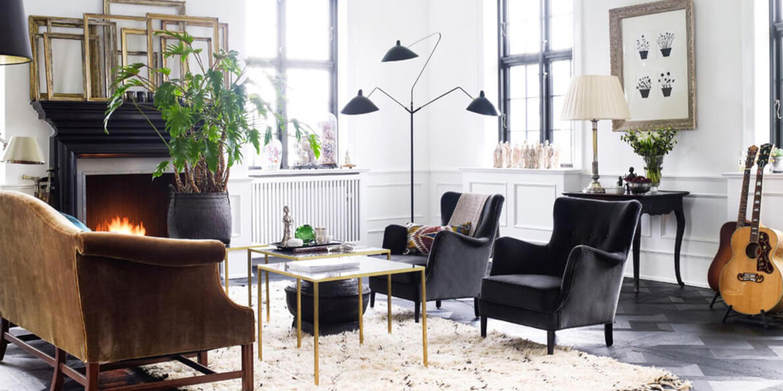 Serge Mouille Three-Arm Floor Lamp