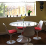 "Lippa 36"" Round Fiberglass Dining Table"