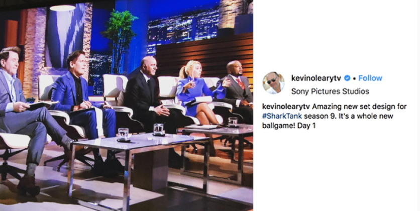 What's The Newest Style Upgrade On ABC's SharkTank?