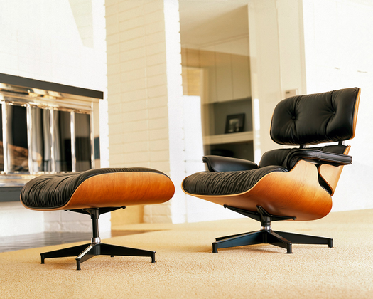 The Eames Lounge Chair Is The Most Comfortable Chair For a Living Room