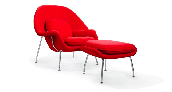 Womb Chair & Ottoman