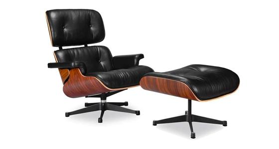 Classic Lounge Chair & Ottoman