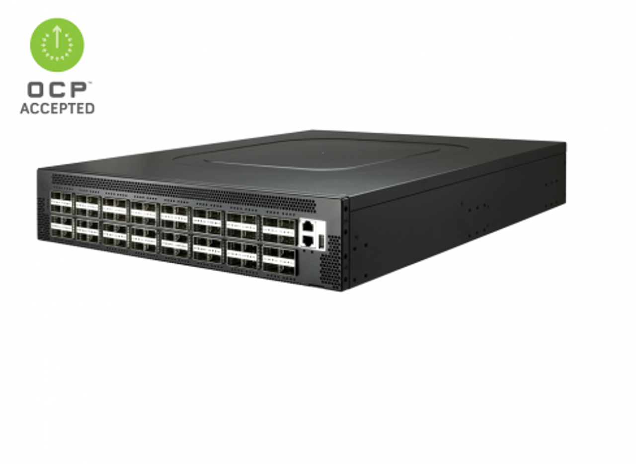 100GBE Baremetal Switch 64-Port 100G QSFP28 Tomahawk II