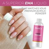 EMA Pro Acrylic Nail Liquid Monomer
