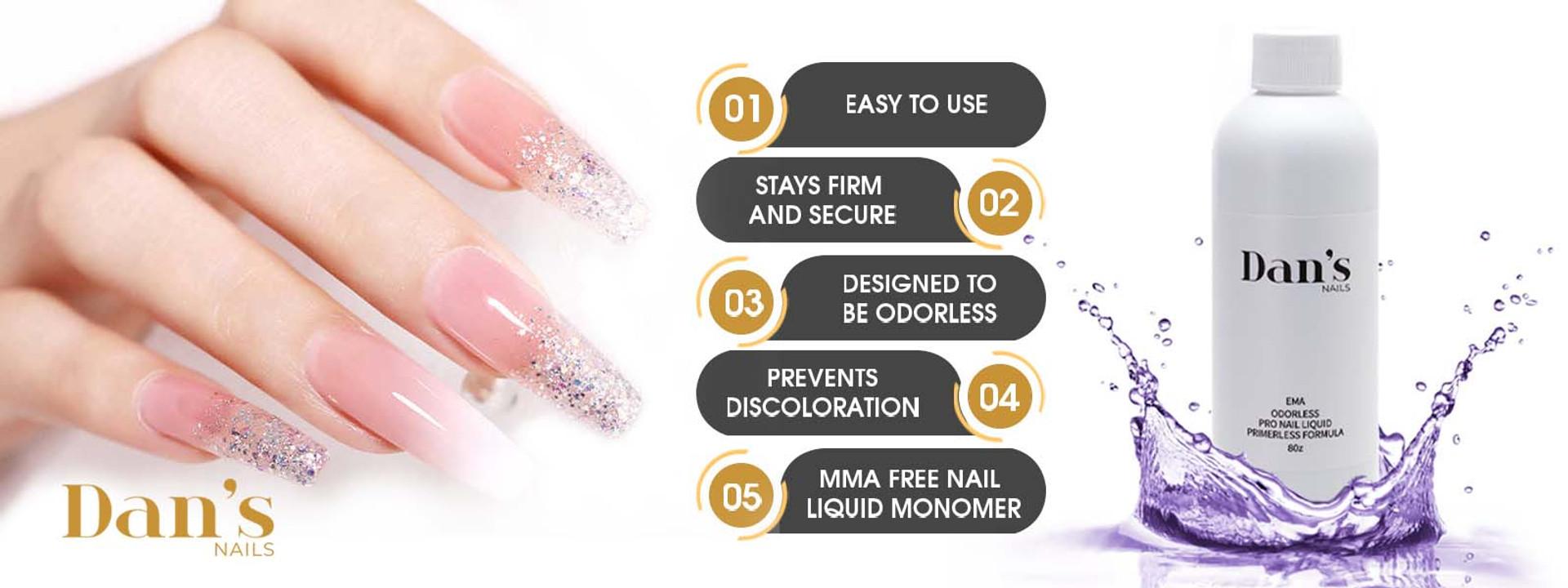 cheap nail supplies acrylic nail monomer liquid