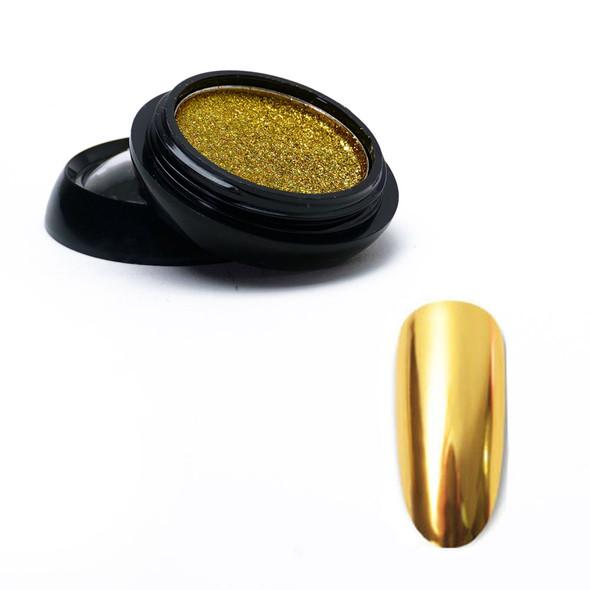 Gold Chrome Mirror Solid Pigment Powder