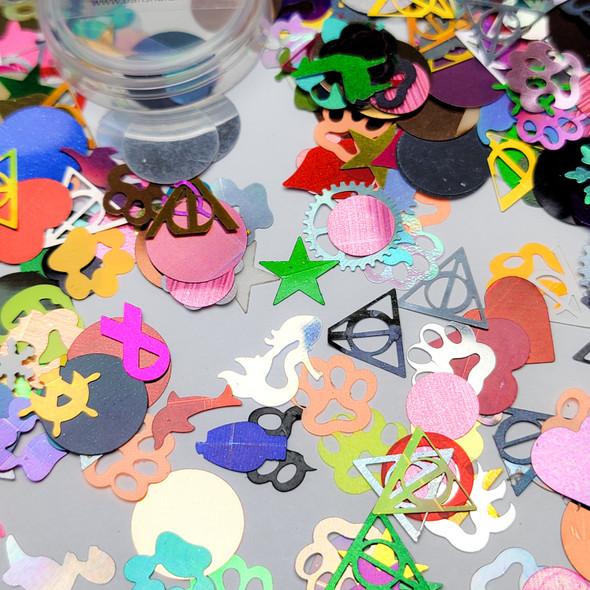 Mixed Glitter Sequins (Encapsulation art)