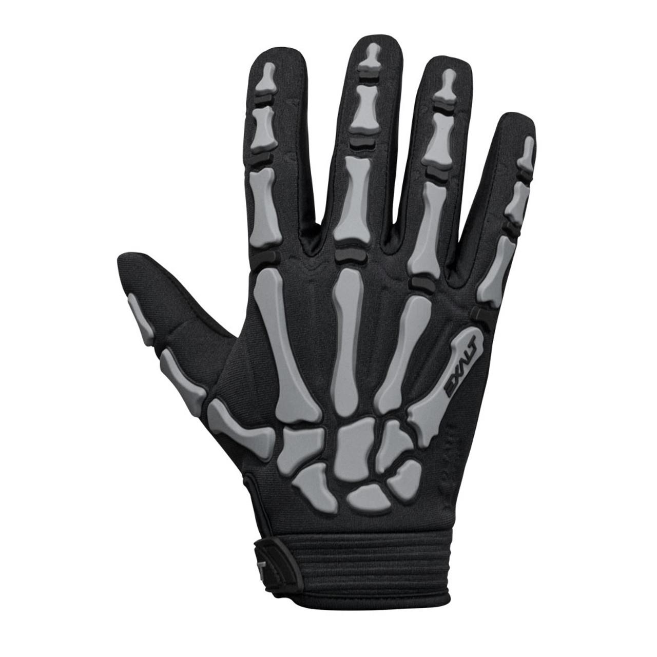 Exalt Death Grip Gloves Grey / Full Finger