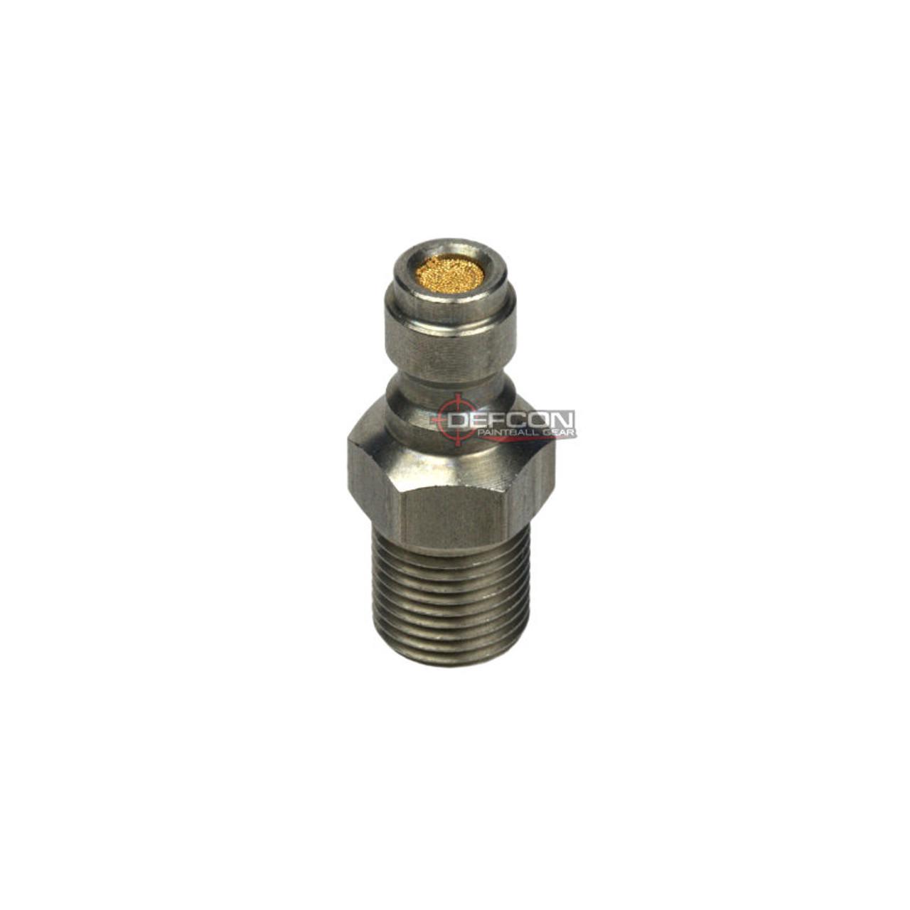 Magfed Gear Fill Nipple W/ Brass Filter - 1/8 NPT Thread