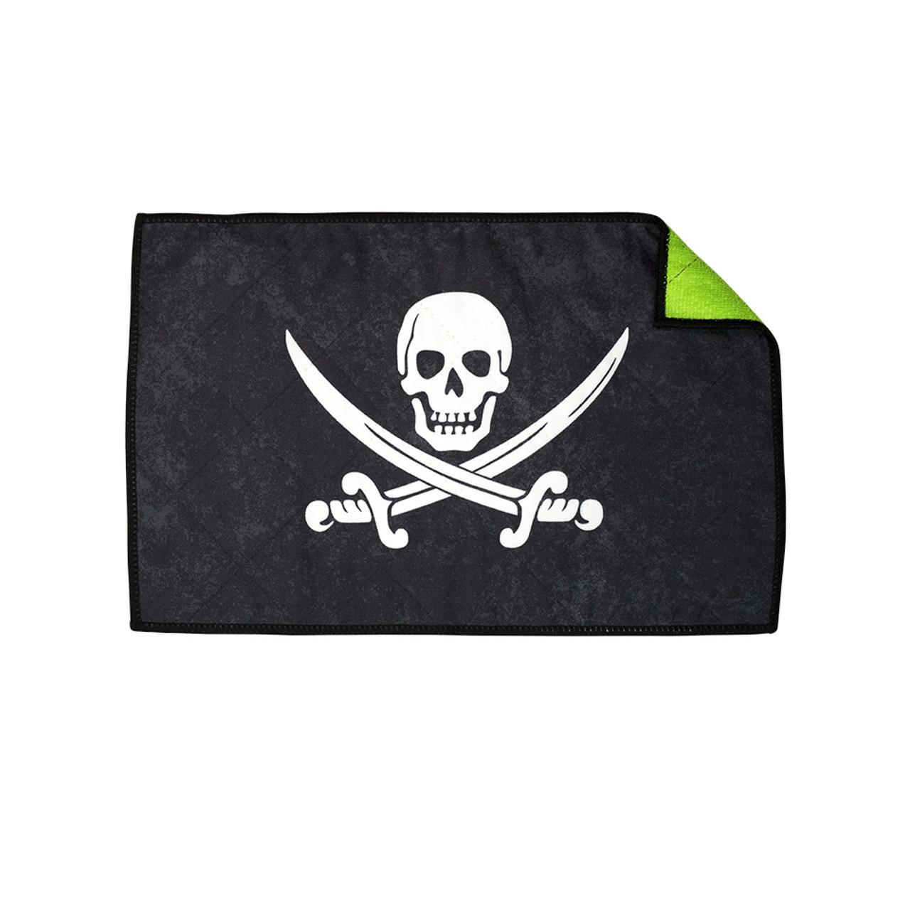 Exalt Microfiber Player Size Jolly Roger Pirate