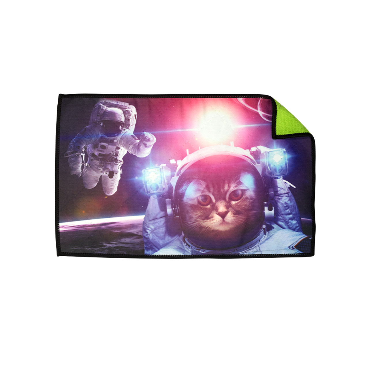 Exalt Microfiber Player Size Space Cat