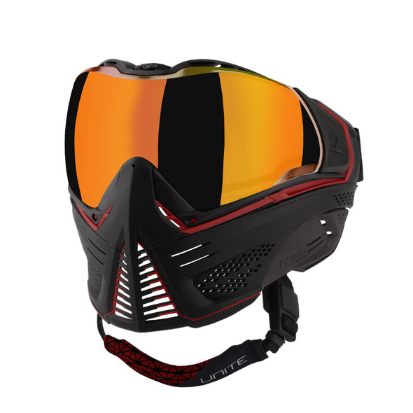 Push Unite Paintball Mask - Red