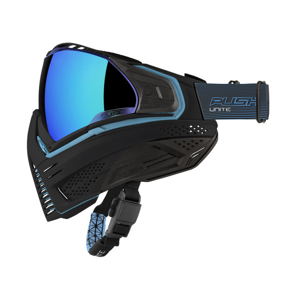 Push Unite Paintball Mask - Blue
